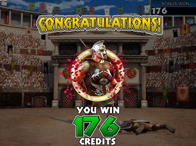 gladiator betsoft bonus